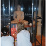 Meditation bei Buddha